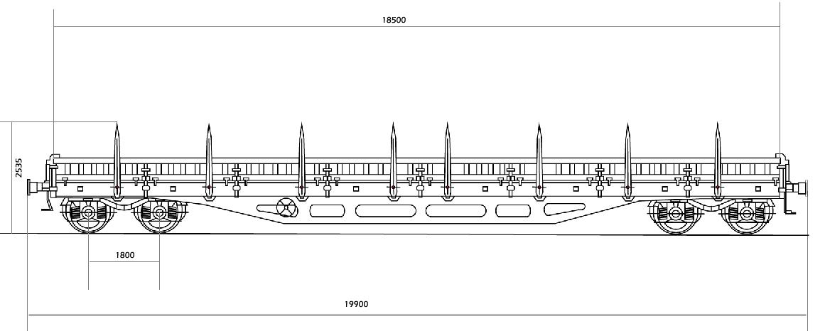 Platforma Wymiary Wagon